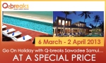 Go On Holiday with Q-breaks Sawadee Samui… At a Special Price!