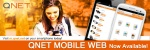 QNET Mobile Web Now Available!