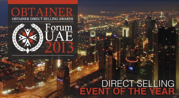 OBTAINER Forum UAE 2013 Ticket
