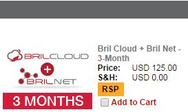 Bril Cloud + Bril Net - 3-Month (1/6)